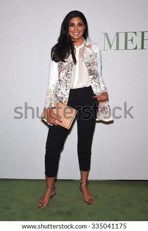 "LOS ANGELES - OCT 13:  Rachel Roy arrives to the La Mer ""Celebration of an Icon"" Global Event on October 13, 2015 in Hollywood, CA.                 - stock photo"