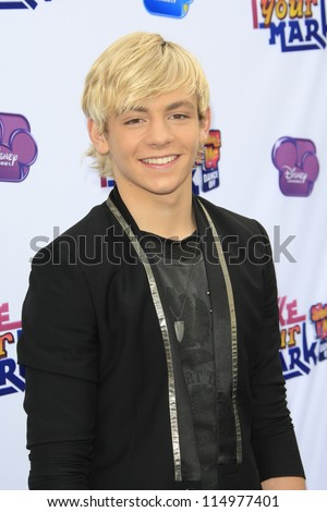 LOS ANGELES - OCT 6: Ross Lynch at the 'Make Your Mark: Shake It Up Dance Off 2012' at LA Center Studios on October 6, 2012 in Los Angeles, California