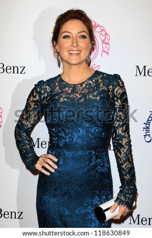 LOS ANGELES - OCT 20:  Sasha Alexander arrives at  the 26th Carousel Of Hope Ball at Beverly Hilton Hotel on October 20, 2012 in Beverly Hills, CA - stock photo