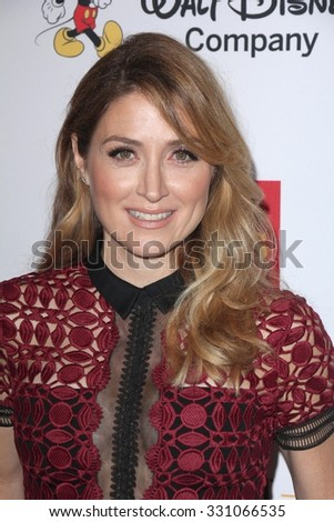 LOS ANGELES - OCT 23:  Sasha Alexander at the 2015 GLSEN Respect Awards at the Beverly Wilshire Hotel on October 23, 2015 in Beverly Hills, CA - stock photo