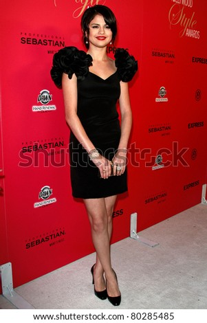 LOS ANGELES - OCT 11: Selena Gomez at Hollywood Life's 6th Annual Hollywood Style Awards at the Armand Hammer Museum in Los Angeles, California on October 11, 2009 - stock photo