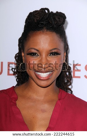 "LOS ANGELES - OCT 7:  Shanola Hampton at the ""Rudderless"" Premiere at Vista Theater on October 7, 2014 in Los Angeles, CA"