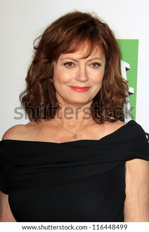 LOS ANGELES - OCT 22:  Susan Sarandon arrives at  the 2012 Hollywood Film Festival Gala at Beverly Hilton Hotel on October 22, 2012 in Beverly Hills, CA