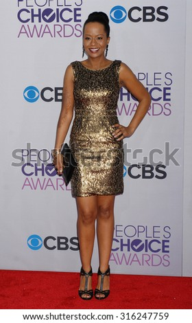 LOS ANGELES - OCT 4:  Tempest Bledsoe arrives at the 2013 Peoples Choice Awards  on January 9, 2013 in Los Angeles, CA