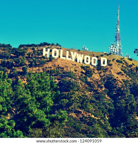 how tall are the hollywood letters sign stock images royalty free images amp vectors 10296 | stock photo los angeles october hollywood sign on october in los angeles the sign located in 124091059