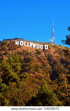 how tall are the hollywood letters sign stock images royalty free images amp vectors 10296 | stock photo los angeles october hollywood sign on october in los angeles the sign located in 93058072