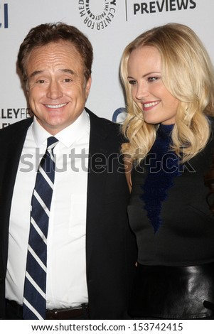 LOS ANGELES - SEP 10:  Bradley Whitford, Malin Akerman at the PaleyFest Previews:  Fall TV ABC  at Paley Center for Media on September 10, 2013 in Beverly Hills, CA