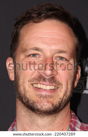"""LOS ANGELES - SEP 27:  Brady Smith at the """"Star Wars Rebels"""" Premiere Screening at AMC Century City on September 27, 2014 in Century City, CA - stock photo"""