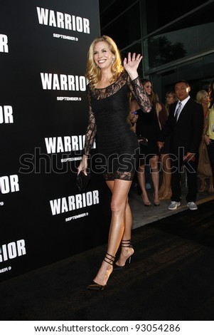 LOS ANGELES - SEP 6: Brooke Burns at the world premiere of 'Warrior' on September 6, 2011 in Los Angeles, California