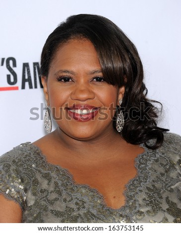"LOS ANGELES - SEP 28:  Chandra Wilson arrives to ""Grey's Anatomy"" 200th Episode Party  on September 28, 2013 in Hollywood, CA"