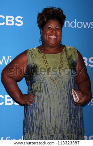 LOS ANGELES - SEP 15:  Cleo King arrives at the CBS 2012 Fall Premiere Party  at Greystone Manor on September 15, 2012 in Los Angeles, CA