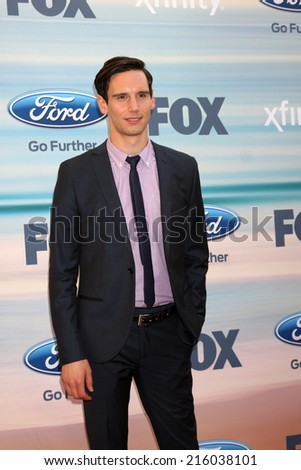 LOS ANGELES - SEP 8:  Cory Michael Smith at the 2014 FOX Fall Eco-Casino at The Bungalow on September 8, 2014 in Santa Monica, CA - stock photo