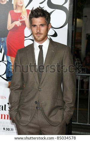 "LOS ANGELES - SEP 19:  Dave Annable arriving at the ""What's Your Number?"" Los Angeles Premiere at Regency Village Theater on September 19, 2011 in Westwood, CA"