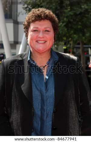LOS ANGELES - SEP 10:  Dot Marie Jones arriving at the Celebration of L.A. ARTS MONTH at Calvin Klein Store on September 10, 2011 in Los Angeles, CA - stock photo