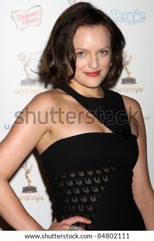 LOS ANGELES - SEP 16:  Elisabeth Moss 63rd Primetime Emmy Awards PERFORMERS NOMINEE RECEPTION at SPECTRA by Wolfgang Puck on September 16, 2011 in Los Angeles, CA - stock photo