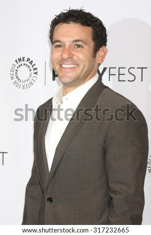 LOS ANGELES - SEP 15:  Fred Savage at the PaleyFest 2015 Fall TV Preview - FOX at the Paley Center For Media on September 15, 2015 in Beverly Hills, CA - stock photo