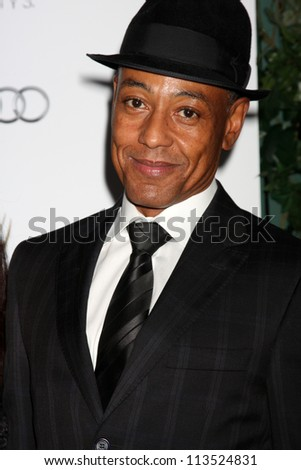 LOS ANGELES - SEP 21:  Giancarlo Esposito arrives at the Primetime Emmys Performers Nominee Reception at Spectra by Wolfgang Puck on September 21, 2012 in Los Angeles, CA - stock photo