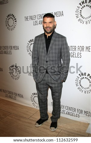 LOS ANGELES - SEP 11:  Guillermo Diaz arrives at the ABC Fall TV Preview at Paley Center for Media on September 11, 2012 in Beverly Hills, CA