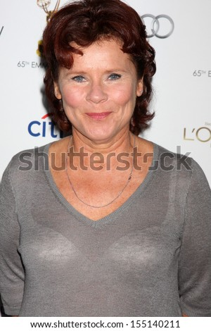LOS ANGELES - SEP 20:  Imelda Staunton at the Emmys Performers Nominee Reception at  Pacific Design Center on September 20, 2013 in West Hollywood, CA - stock photo