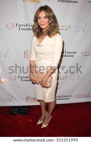 LOS ANGELES - SEP 9:  Jaclyn Smith at the Farrah Fawcett Foundation Presents 1st Annual Tex-Mex Fiesta at the Wallis Annenberg Center for the Performing Arts on September 9, 2015 in Beverly Hills, CA - stock photo