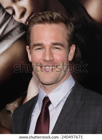 "LOS ANGELES - SEP 12:  James Van Der Beek arrives to the ""The Words"" Premiere  on September 12, 2012 in Hollywood, CA                 - stock photo"