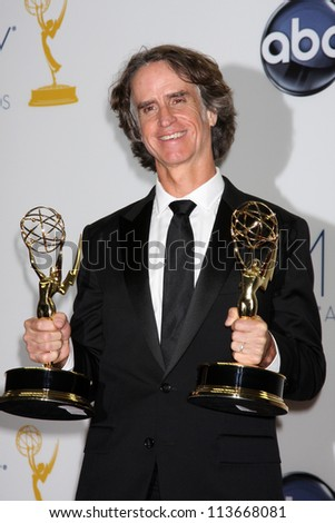 LOS ANGELES - SEP 23:  Jay Roach in the press room of the 2012 Emmy Awards at Nokia Theater on September 23, 2012 in Los Angeles, CA