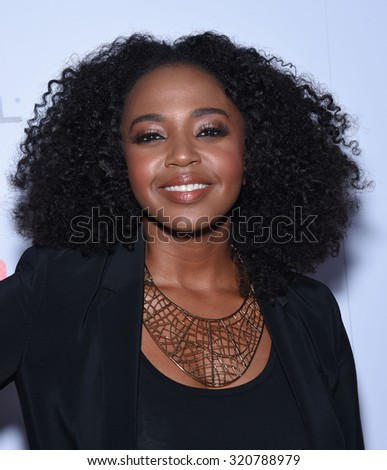 LOS ANGELES - SEP 18:  Jerrika Hinton Television Industry Advocacy Awards  on September 18, 2015 in Hollywood, CA