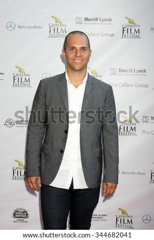LOS ANGELES - SEP 25:  John Paul Rothie at the Catalina Film Festival Friday Evening Gala at the Avalon Theater on September 25, 2015 in Avalon, CA - stock photo