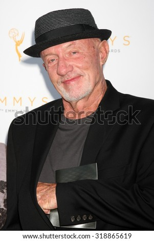 LOS ANGELES - SEP 19:  Jonathan Banks at the 67th Emmy Awards Performers Nominee Reception at the Pacific Design Center on September 19, 2015 in West Hollywood, CA