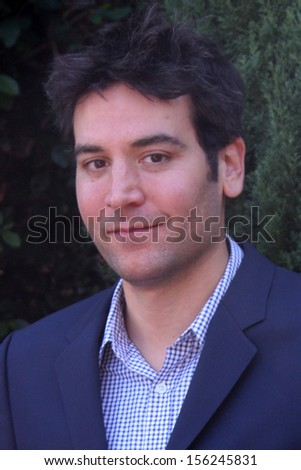 LOS ANGELES - SEP 29:  Josh Radnor at the Rape Foundation Annual Brunch at Green Acres Estate on September 29, 2013 in Beverly Hills, CA - stock photo