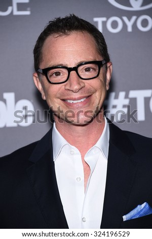 LOS ANGELES - SEP 26:  Joshua Malina arrives to the TGIT Premiere Red Carpet Event  on September 26, 2015 in Hollywood, CA.                 - stock photo