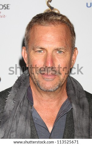 LOS ANGELES - SEP 21:  Kevin Costner arrives at the Primetime Emmys Performers Nominee Reception at Spectra by Wolfgang Puck on September 21, 2012 in Los Angeles, CA - stock photo