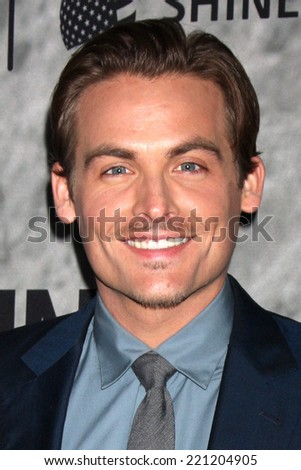 "LOS ANGELES - SEP 30:  Kevin Zegers at the ""Gracepoint"" Premiere Party at LACMA on September 30, 2014 in Los Angeles, CA"