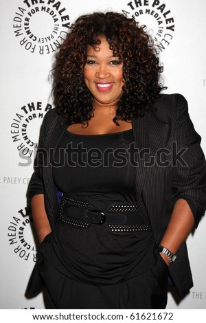 "LOS ANGELES - SEP 23:  Kym Whitley arrives at ""The Cleveland Show"" DVD Release Party & Panel DIscussion  at Paley Center for Media on September 23, 2010 in Beverly Hills, CA"
