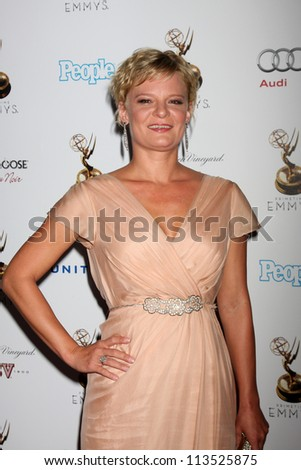 LOS ANGELES - SEP 21:  Martha Plimpton arrives at the Primetime Emmys Performers Nominee Reception at Spectra by Wolfgang Puck on September 21, 2012 in Los Angeles, CA