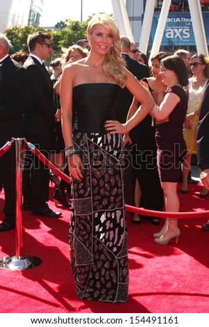 LOS ANGELES - SEP 15:  McKenzie Westmore at the Creative Emmys 2013 - Arrivals at Nokia Theater on September 15, 2013 in Los Angeles, CA