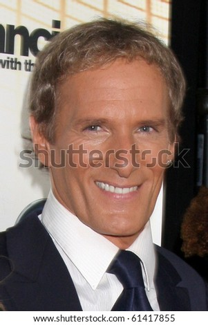 LOS ANGELES - SEP 20:  MICHAEL BOLTON at the Season 11 Premiere of Dancing with the Stars at CBS Television CIty  on September 20, 2010 in Los Angeles, CA - stock photo