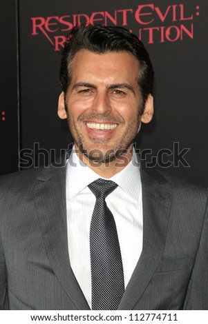 LOS ANGELES - SEP 12: Oded Fehr at the LA premiere of 'Resident Evil: Retribution' at Regal Cinemas L.A. Live on September 12, 2012 in Los Angeles, California