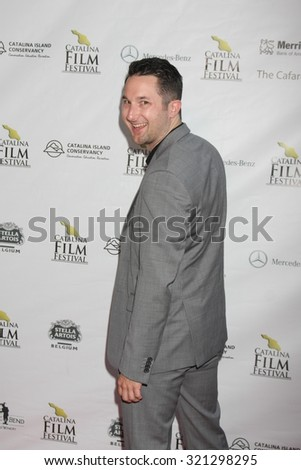 LOS ANGELES - SEP 25:  Quinn P Smith at the Catalina Film Festival Friday Evening Gala at the Avalon Theater on September 25, 2015 in Avalon, CA - stock photo