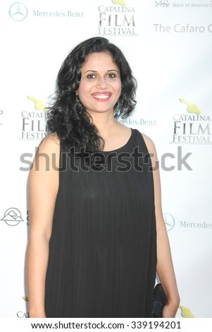 LOS ANGELES - SEP 25:  Rashmi Lekhi at the Catalina Film Festival Friday Evening Gala at the Avalon Theater on September 25, 2015 in Avalon, CA - stock photo