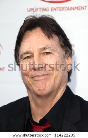 "LOS ANGELES - SEP 29:  Richard Hatch arrives at the 40th Anniversary of ""The Waltons"" Reunion at Wilshire Ebell Theatre on September 29, 2012 in Los Angeles, CA"