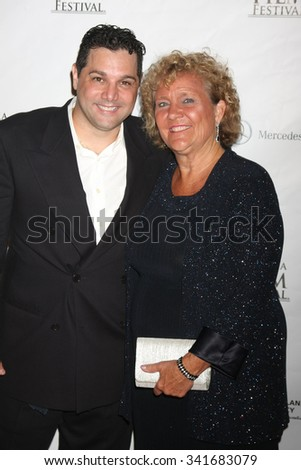 LOS ANGELES - SEP 25:  Ron Truppa, Blanny Avalon Hagenah at the Catalina Film Festival Friday Evening Gala at the Avalon Theater on September 25, 2015 in Avalon, CA - stock photo