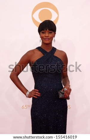 LOS ANGELES - SEP 22:  Sufe Bradshaw at the  at Nokia Theater on September 22, 2013 in Los Angeles, CA - stock photo