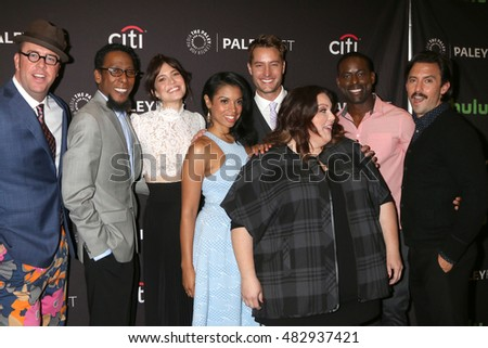 "LOS ANGELES - SEP 13:  ""This is Us"" Cast at the PaleyFest 2016 Fall TV Preview - NBC at the Paley Center For Media on September 13, 2016 in Beverly Hills, CA"