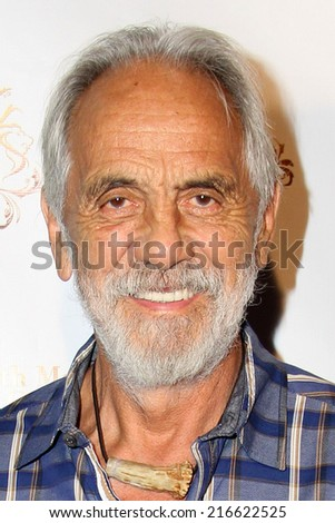 LOS ANGELES - SEP 10:  Tommy Chong at the Dance With Me USA Grand Opening at Dance With Me Studio on September 10, 2014 in Sherman Oaks, CA