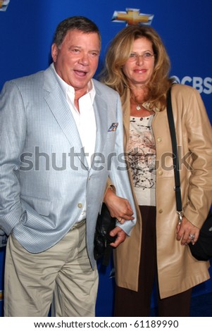 LOS ANGELES - SEP 16:  William Shatner arrives at the CBS Fall Party 2010 at The Colony on September 16, 2010 in Los Angeles, CA - stock photo