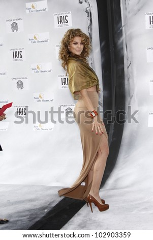 LOS ANGELES - SEPT 25: AnnaLynne McCord at the IRIS, A Journey Through the World of Cinema by Cirque du Soleil premiere at the Kodak Theater on September 25, 2011  in Los Angeles, California - stock photo