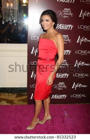 LOS ANGELES - SEPT 23:  Eva Longoria arriving at the Variety's Power of Women Luncheon at Beverly Wilshire Hotel on September 23, 2011 in Beverly Hills, CA