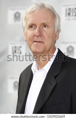 LOS ANGELES - SEPT 25: James Cameron at the IRIS, A Journey Through the World of Cinema by Cirque du Soleil premiere at the Kodak Theater on September 25, 2011  in Los Angeles, California - stock photo