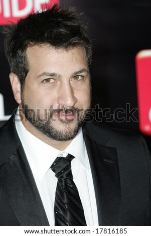 LOS ANGELES - SEPTEMBER 21: Singer Joey Fatone attends the 6th Annual Primetime EMMY After Party presented by TV Guide at The Kress on September 21, 2008 in Los Angeles.